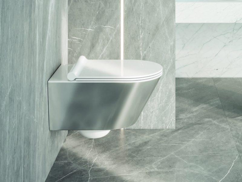 Zero 55x35 Newflush bianco-argento